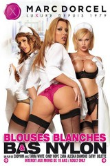 Blouses blanches & bas nylon
