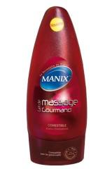 Gel de massage Manix comestible à la fraise