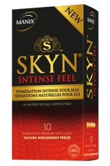 10 préservatifs Manix Skyn Intense Feel