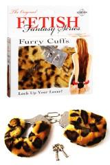 Menottes Fetish Fantasy en fourrure léopard