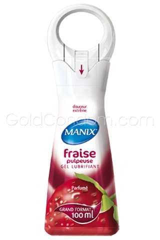 Manix Gel Fraise pulpeuse 100 ml
