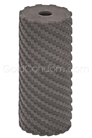 Masturbateur Apollo réversible 12 cm x 5 cm grise