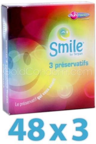 144 Préservatifs Smile