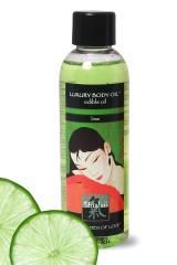 Huile de Massage Comestible Citron Vert 100 ml