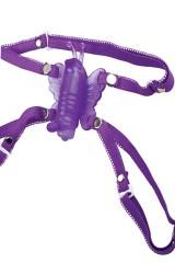 Papillon Venus mauve - Stimulateur mains-libre