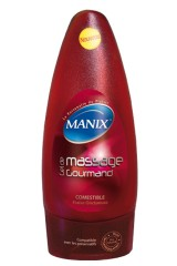 Gel de massage Manix comestible à la fraise
