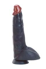 Mr Muscle - Gode noir à ventouse