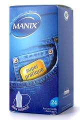 Préservatif Manix Super 24 + 4