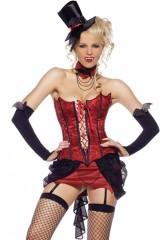 Costume 4 pièces Vampire M