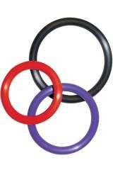 3 anneaux de pénis Toy Joy