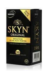 Manix Skyn Original 20 préservatifs