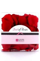 170 Pétales de rose rouge