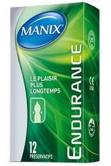 14 préservatifs retardants - Manix Endurance