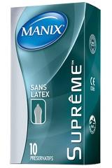10 préservatifs sans latex - Manix Suprême