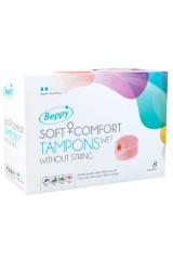 Beppy - 8 tampons hygiéniques lubrifiés