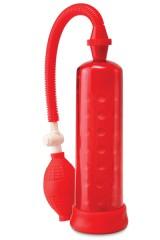 Pompe pour agrandissement pénis - 19 cm - Rouge