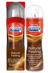 Gel lubrifiant Durex Natural Feeling 50 ml