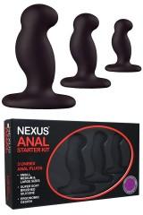 Nexus Anal Starter Kit noir - 3 tailles