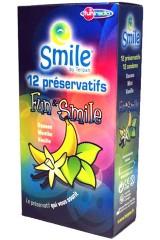 12 préservatifs aux fruits Fun et Smile