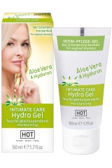 Gel intime Hot 50 ml à l'Aloe Vera et Hyaluron