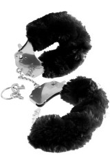 Menottes Fetish Fantasy en fourrure noire