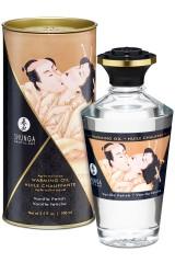 Huile chauffante Shunga aphrodisiaque vanille