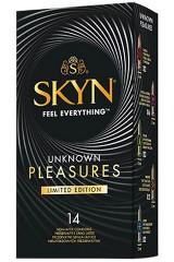 14 préservatifs Skyn variés