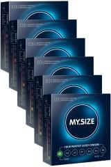 Pack My size - 6 boîtes de 3 préservatifs
