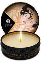 6 mini bougies de massage Shunga parfum vanille