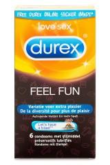 6 préservatifs Feel Fun variés