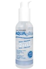 Aquaglide 2 en 1 - Massage et lubrifiant