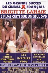 3 Grands Films X sur 1 DvD avec Brigitte Lahaie