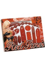 "Coffret ""Red Roses"" de 9 sex toys"