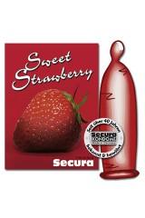 1 Préservatif Secura à la fraise