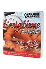 24 Secura Longtime Lover - Préservatifs retardants