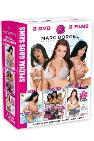 Coffret 3 DVD Gros Seins DORCEL