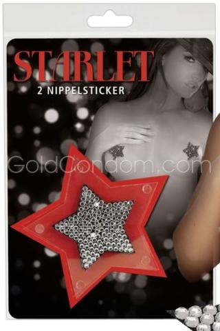 Starlette - 2 stickers étoilés pour vos tétons