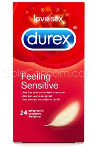 Durex Feeling Sensitive 24 préservatifs