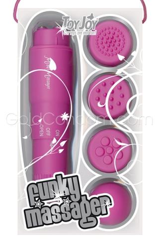 Pocket rocket Rose 10 cm Toy Joy - 4 têtes