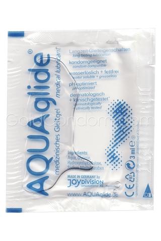 Aquaglide  dosette lubrifiante de 3ml