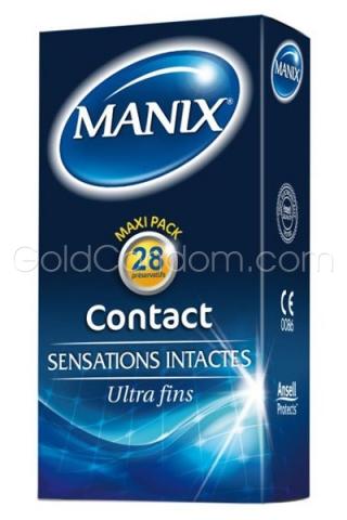 28 préservatifs Manix Contact