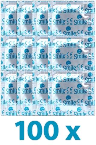 100 préservatif SMILE
