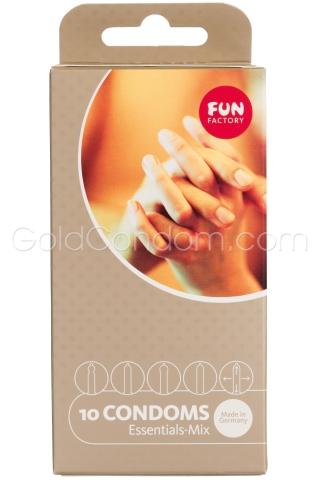 5 x 2 préservatifs Fun Factory  - Mix varié