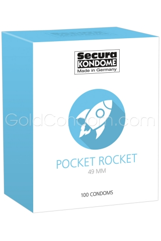 100 Préservatifs Secura 49 mm