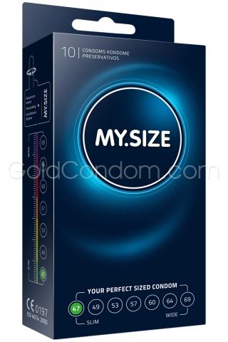 My Size 47 - Boîte de 10 préservatifs