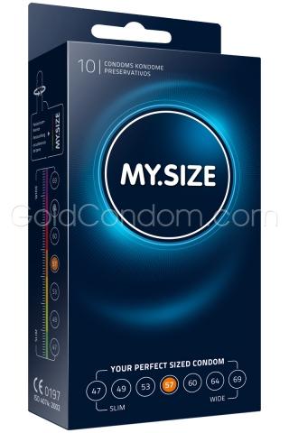 My.Size 57 mm - Boîte de 10 préservatifs