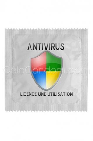 Préservatif Antivirus