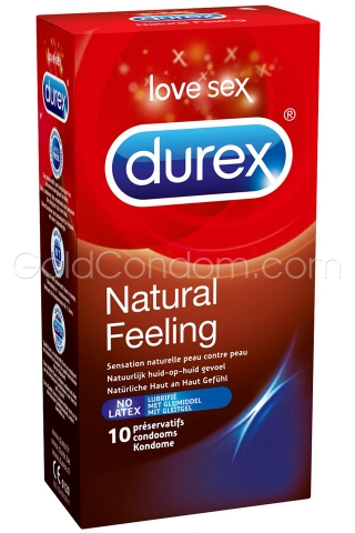 Durex Natural Feeling - 10 préservatifs sans latex