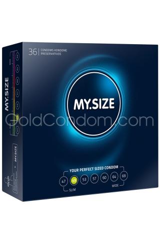 36 préservatifs My.Size de 49 mm